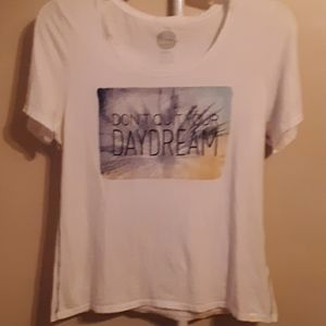 """LIFE IS GOOD """"DONT QUIT YOUR DAYDREAM"""" TEE L"""